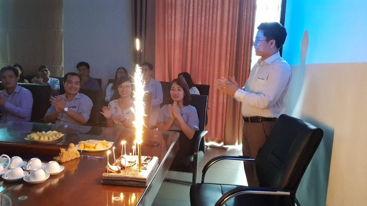 Mừng sinh nhật của Chủ Tịch cùng các thành viên của Verco sinh vào tháng 08