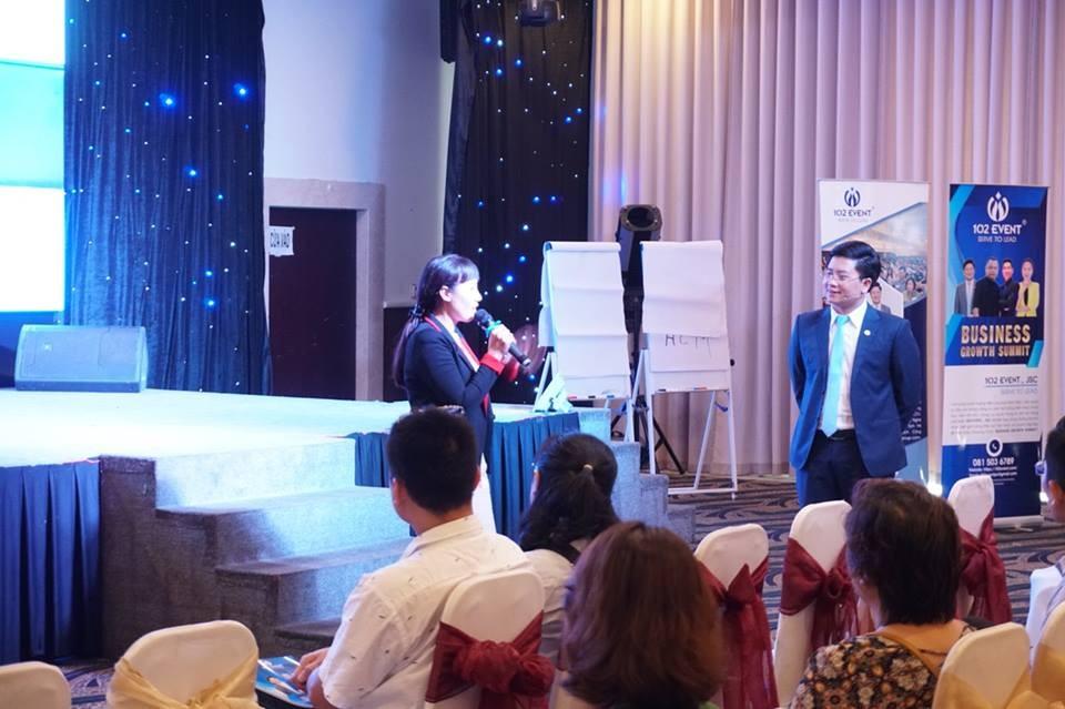 Doanh nhân Sài Thành rực lửa cùng Nguyễn Kim Hùng tại BUSINESS GROWTH SUMMIT