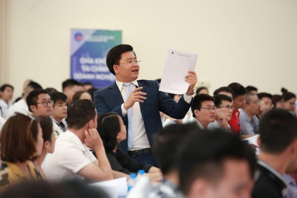 Chiến lược nguồn vốn doanh nghiệp : Gần 400 chủ doanh nghiệp bùng cháy giữa trời Hà Nội