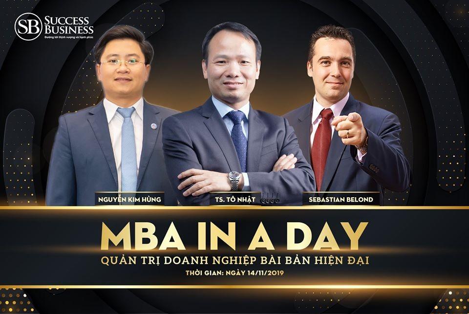 Chuyên gia tài chính Nguyễn Kim Hùng đồng hành cùng Success Business Việt Nam giúp bạn làm chủ quản trị doanh nghiệp chỉ trong một ngày
