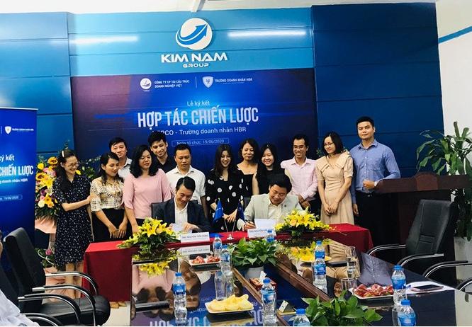 Tầm quan trọng của lễ ký kết hợp tác toàn diện Công ty  Cp Tái cấu trúc Doanh nghiệp Việt (VERCO) – Trường doanh nhân HBR