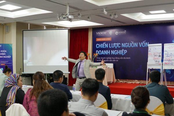 """VERCO """"khai xuân"""" với khóa huấn luyện: Chiến lược nguồn vốn doanh nghiệp K35 – Hà Nội"""