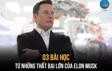 03 Bài học từ những thất bại lớn của Elon Musk?
