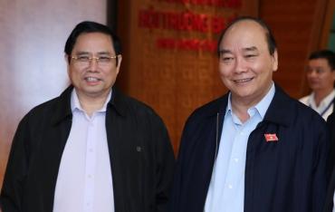 Việt Nam chính thức có thủ tướng và chủ tịch nước mới